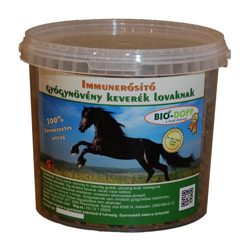 Immunerősítő gyógynövény keverék lovaknak 5L